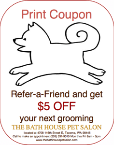 Refer a friend pet grooming